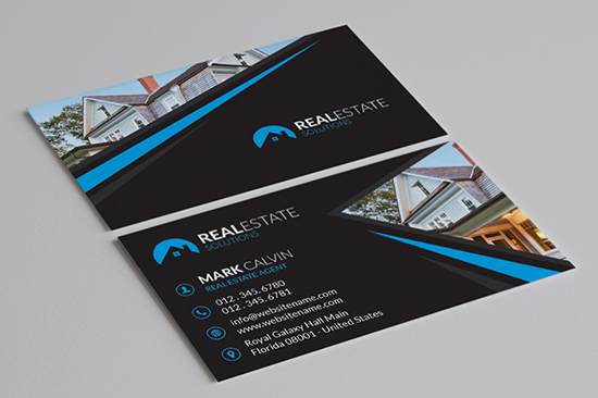 real estate business card 33-1