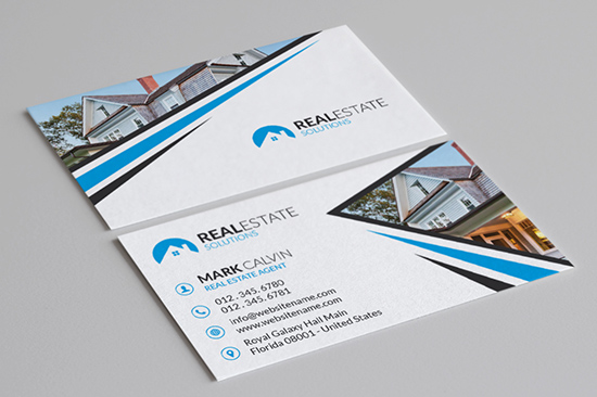 real estate business card 33