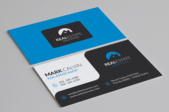 8 real estate business cards