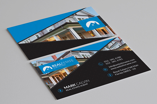real estate business card 40-1
