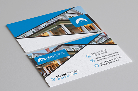 real estate business card 40