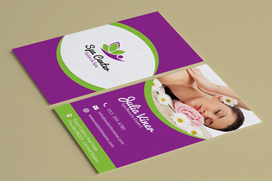 salon spa business card 35