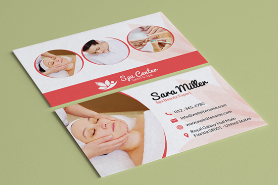 salon spa business card 36