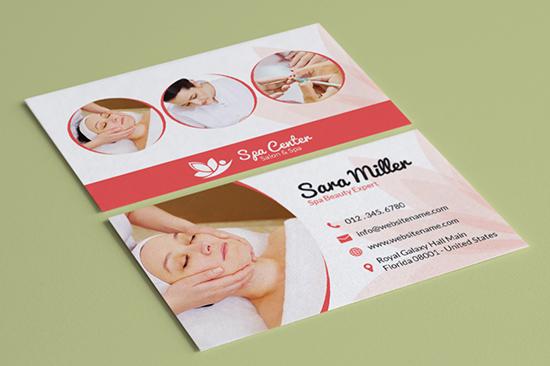 salon spa business card 36