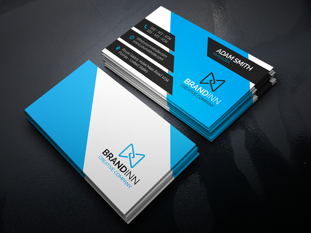 Creative corporate business card 18 graphic pick creative corporate business card is a modern and professional print template for company or business files are fully editable all elements are in high cheaphphosting Gallery