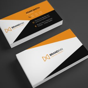 Creative Orange Business Card 23