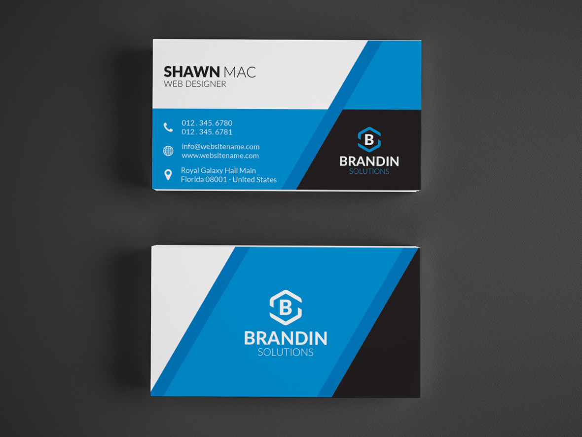 Modern creative business card 26 graphic pick creative corporate business card is a modern and professional print template for company or business files are fully editable all elements are in high reheart Image collections