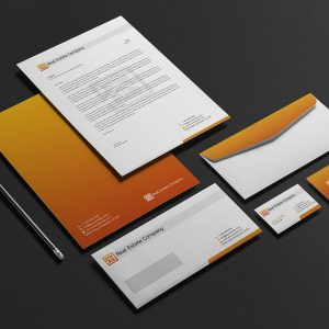 Real Estate Corporate Stationery Design
