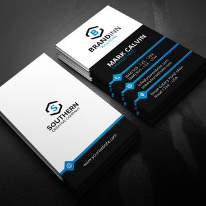 Creative Vertical Business Card 21
