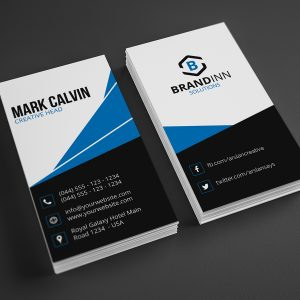 Modern Vertical Business Card 24