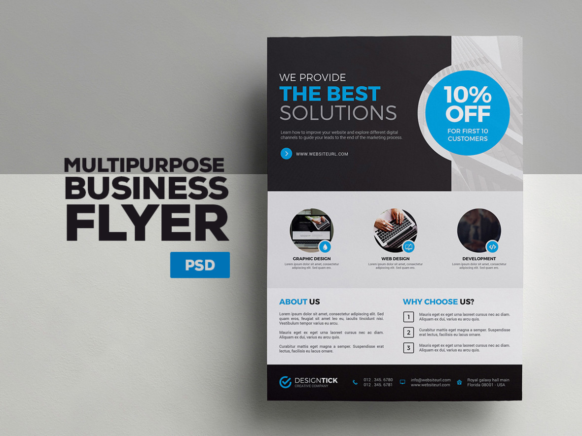 A4 Corporate Flyer 3