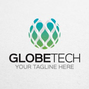 Global Logo – Globe Tech Logo