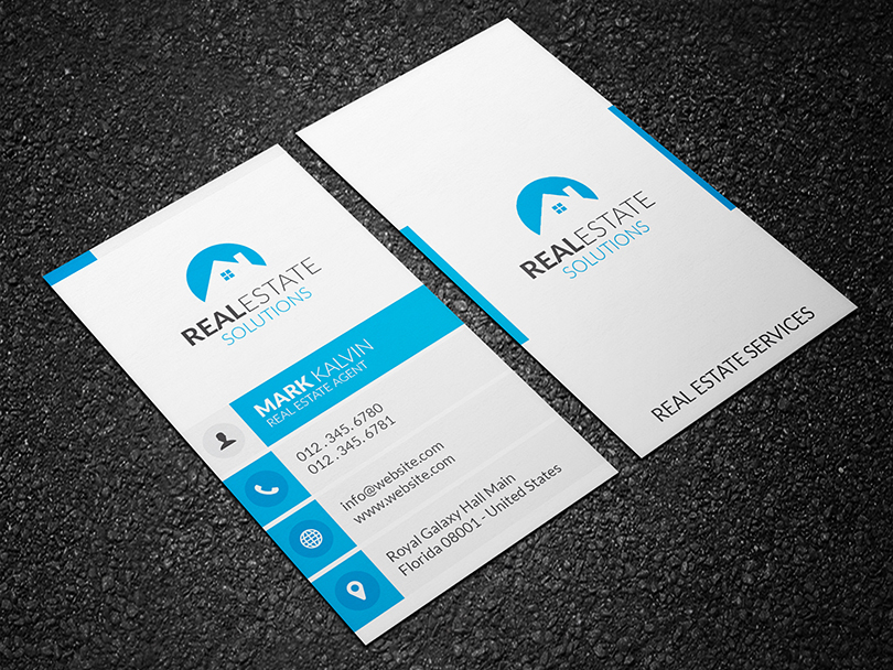 Real Estate Business Card 31 - Graphic Pick
