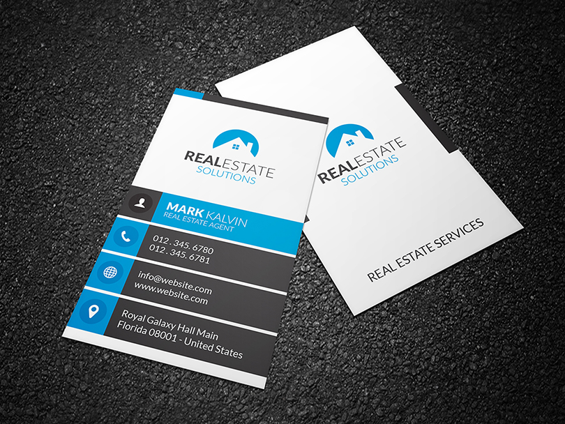 real estate business card 2