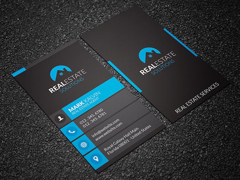 real estate business card 3