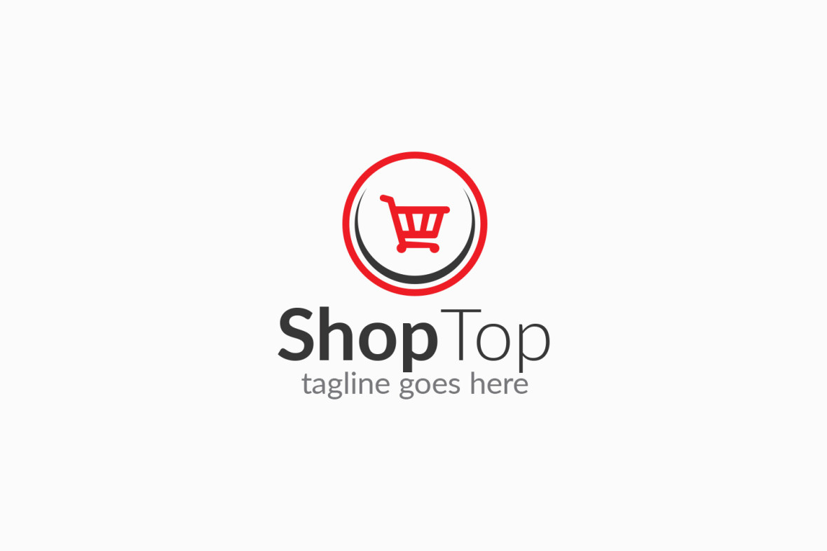 Shopping logo graphic pick for Design online shop