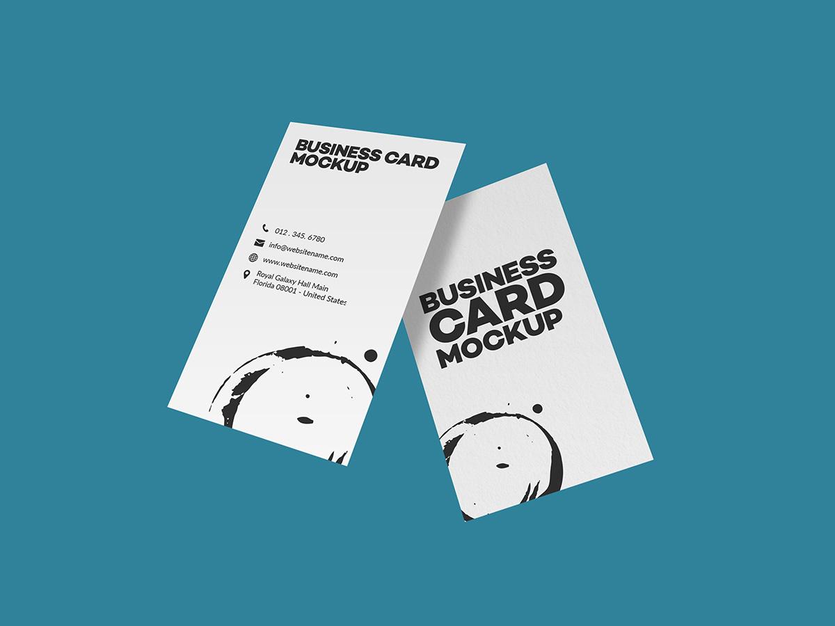 business card mockup 2-