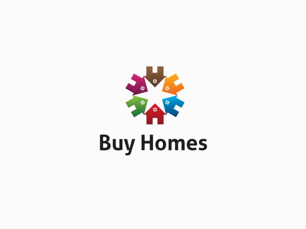 buy homes real estate logo