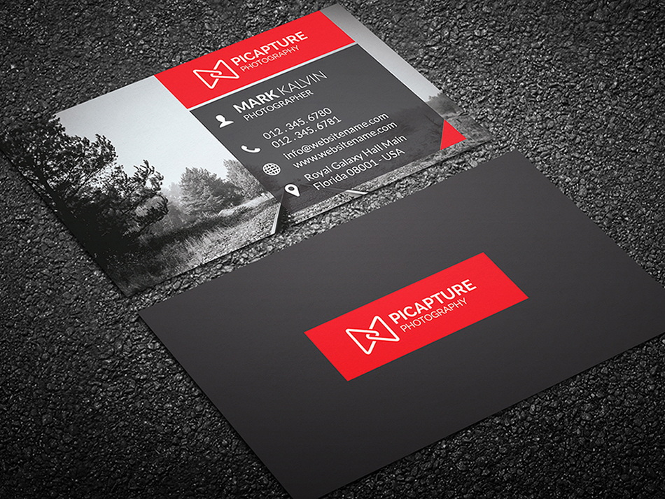 Photography Business Card 32 - Graphic Pick