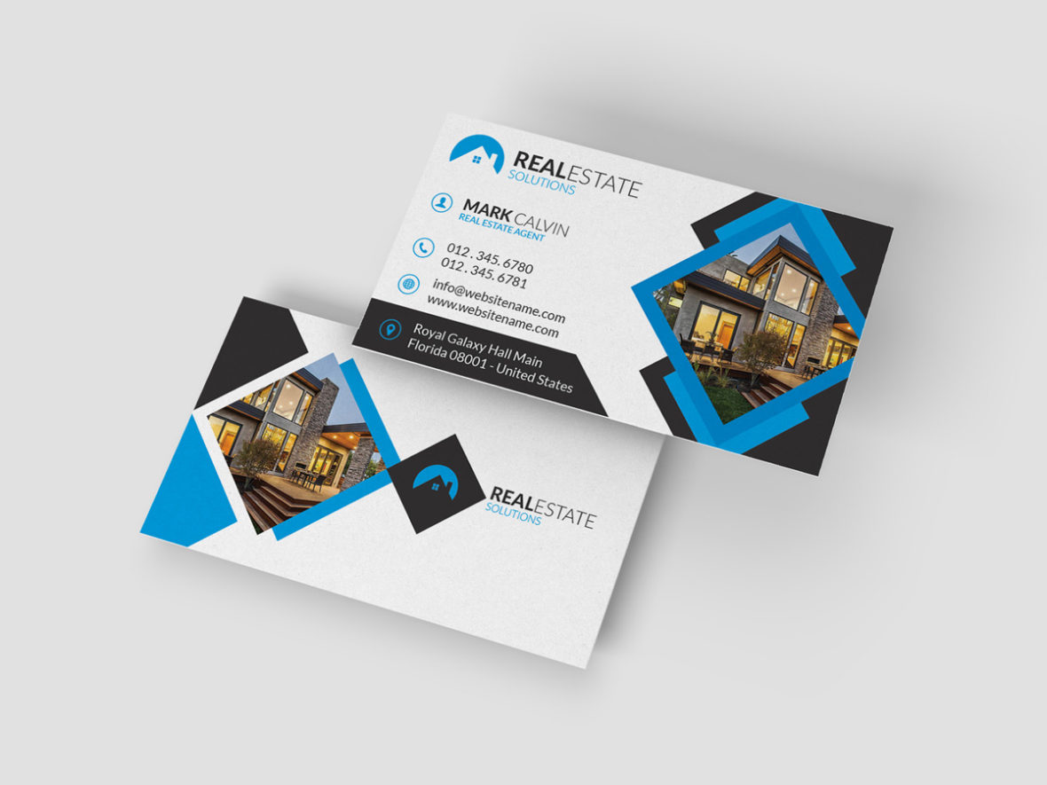 Real Estate Business Card 37 Graphic Pick