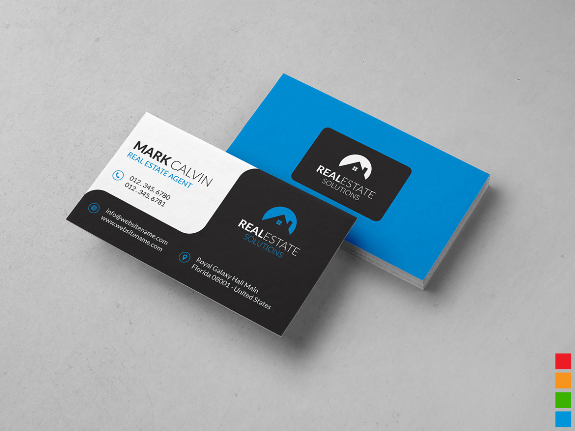 Real Estate Business Card 34 Graphic Pick