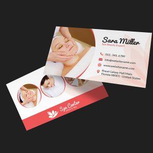 Beauty Salon Spa Business Card 36