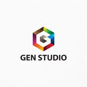 Gen Studio – G Letter Logo