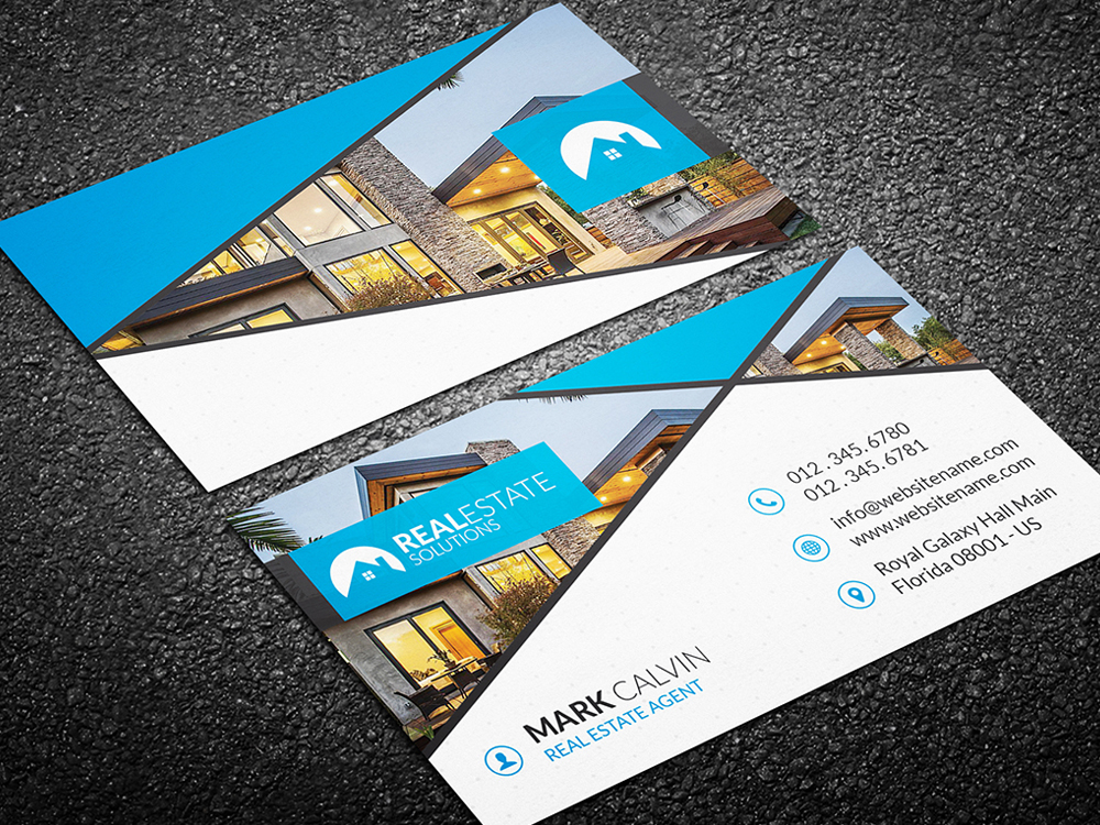 real estate business card 40 - Real Estate Business Card