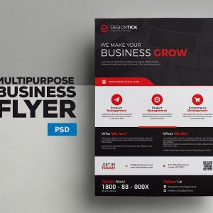 A4 Corporate Flyer 04