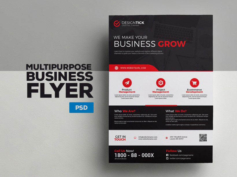 A4 Corporate Flyer 6