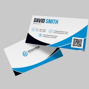 Modern Business Card Template 123