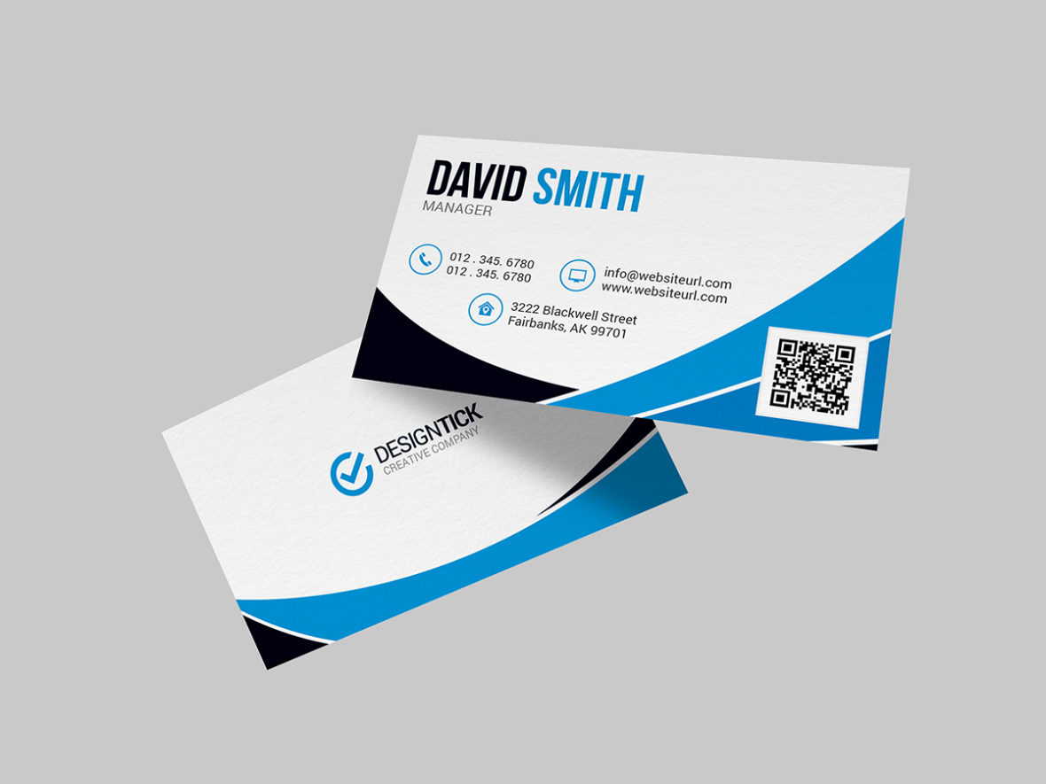 Modern Business Card Template 123 Graphic Pick