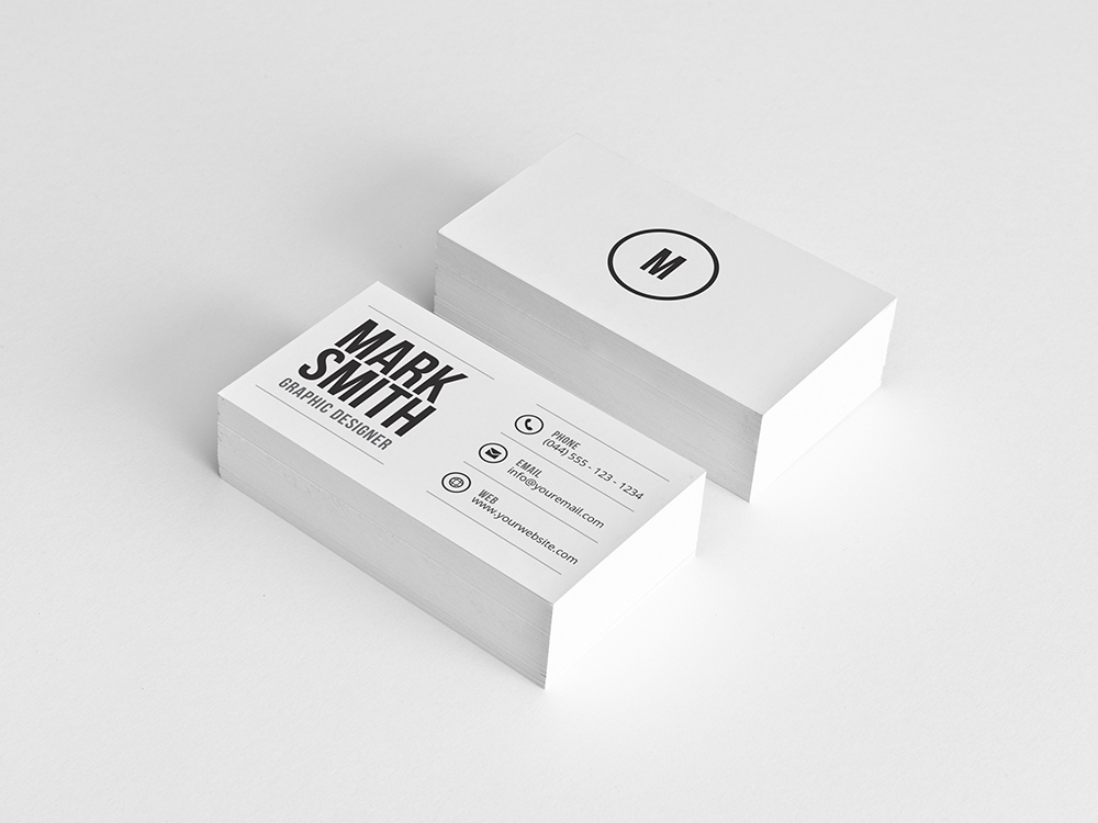 minimal business card 43 - Minimal Business Card