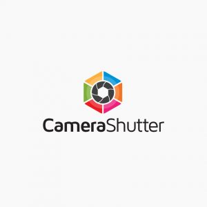 Camera Shutter Photography Logo