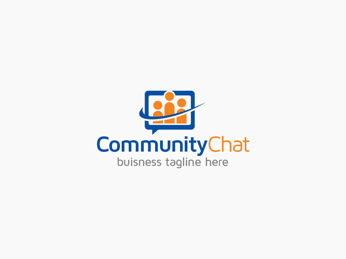 community-chat-logo