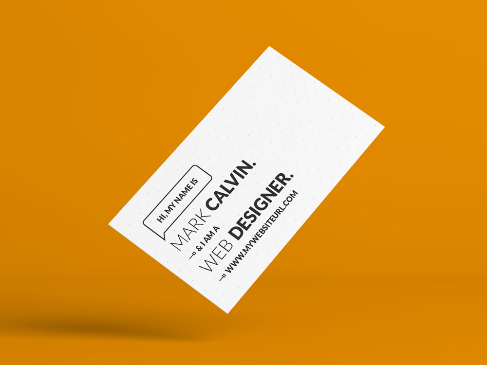 Minimal Business Card Is A Simple And Clean Print Template For Freelancers Or Individual Owners Files Are Fully Editable All Elements In High