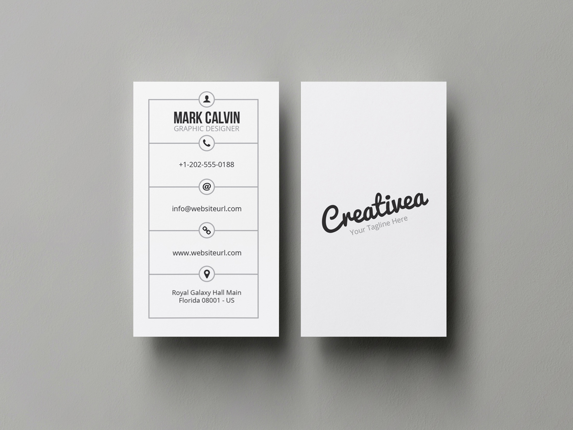 minimal business card 46 - Minimal Business Card