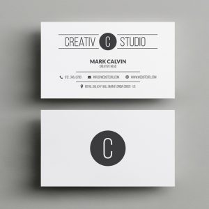 Minimal Business Card 47