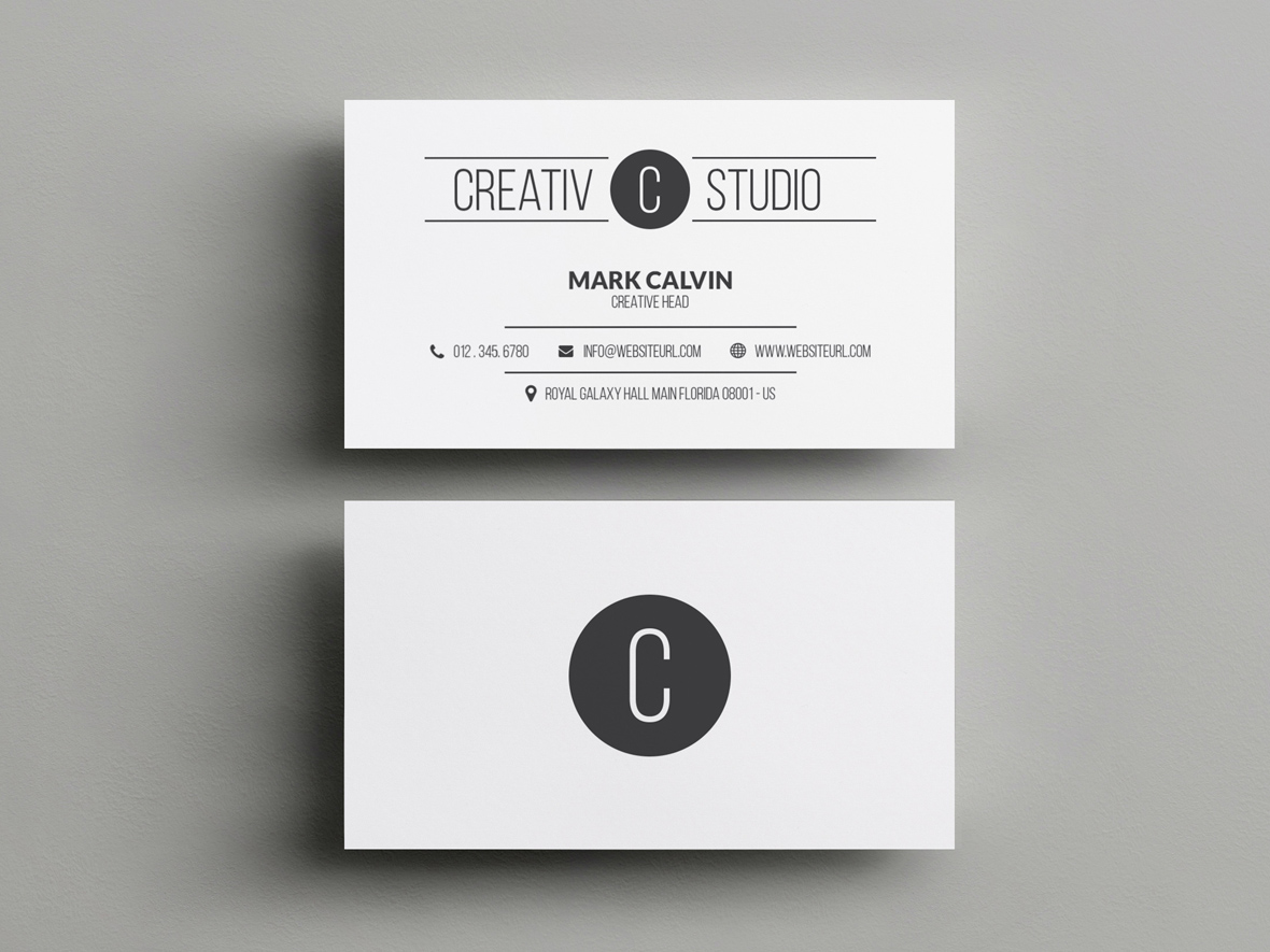 Minimal Business Card 47 - Graphic Pick