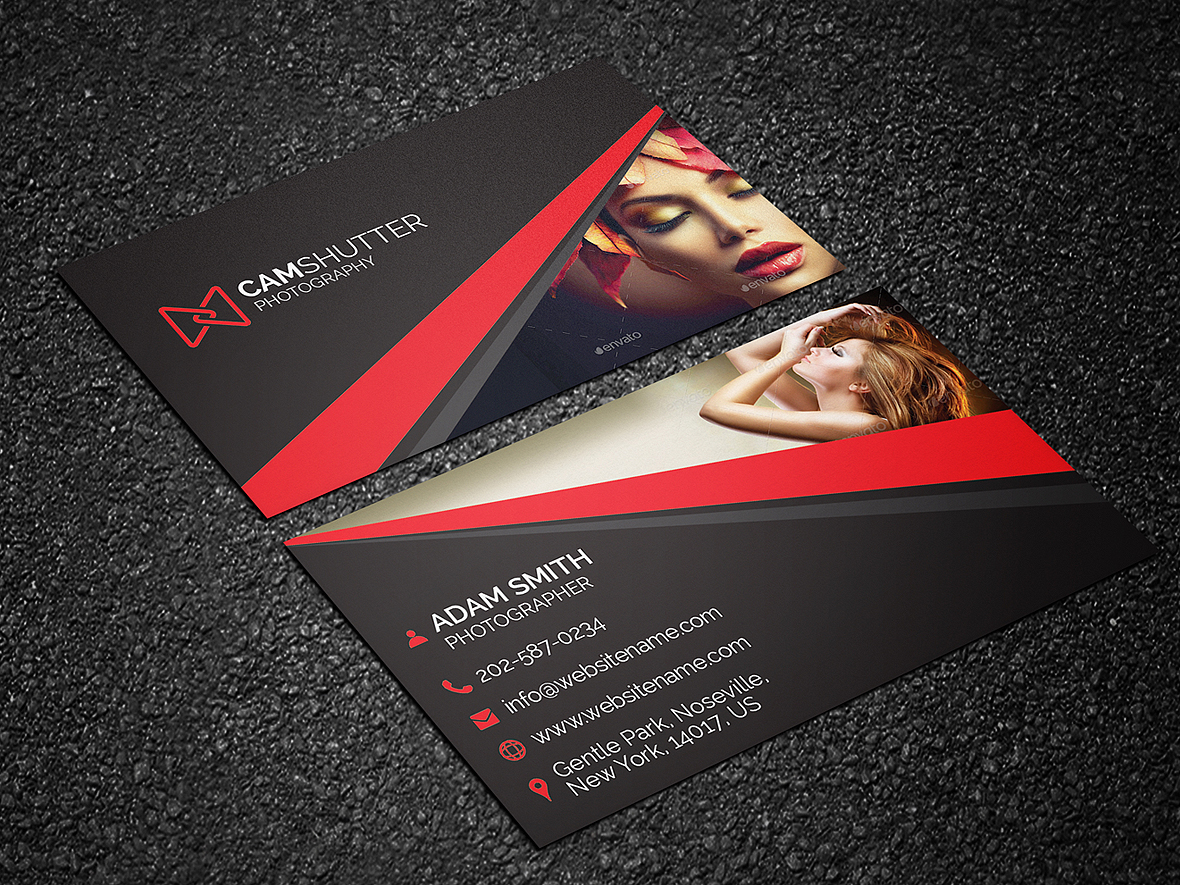 Photography business card 50 graphic pick for Best business cards for photographers