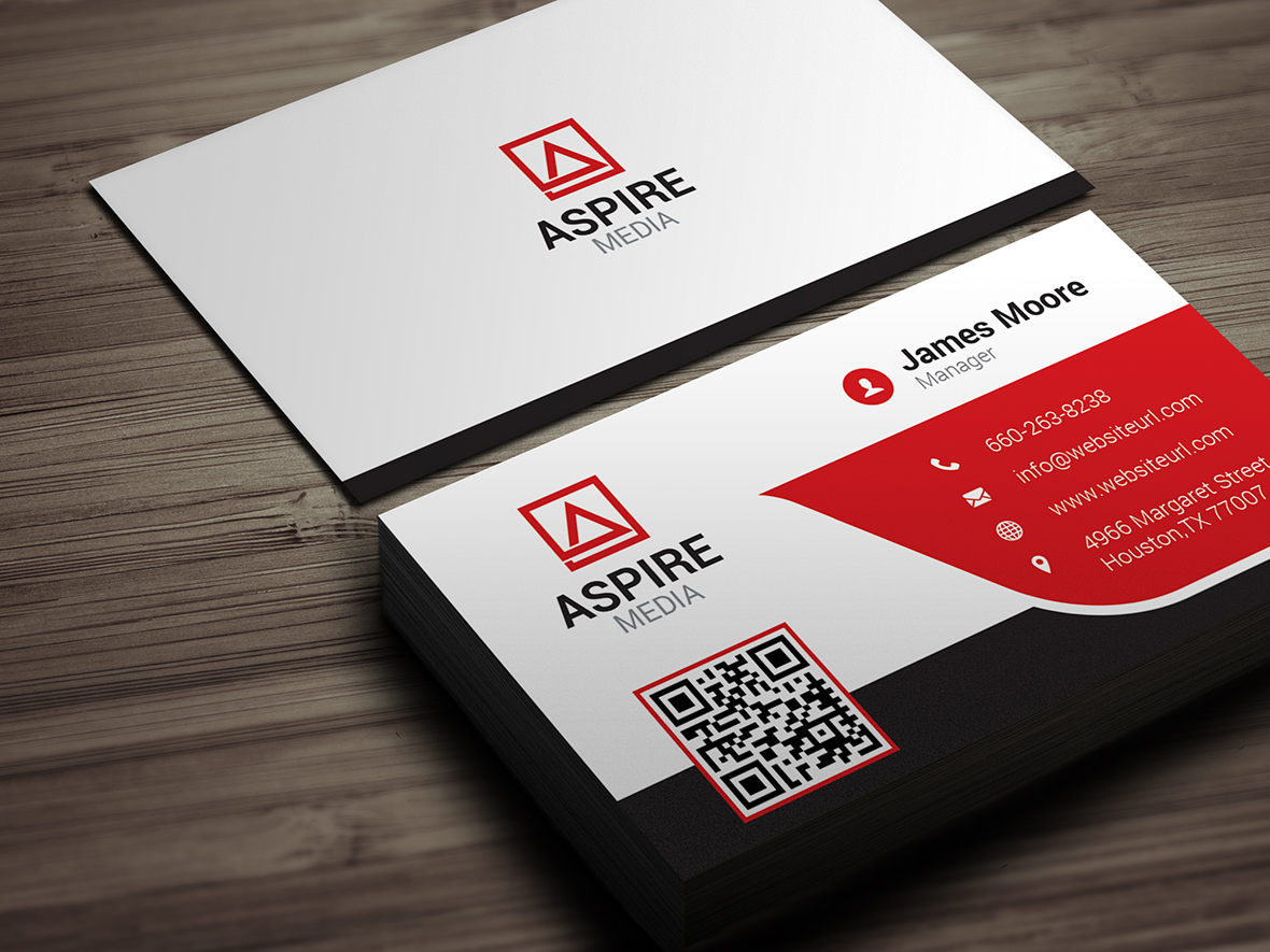 Corporate Business Card 138 - Graphic Pick