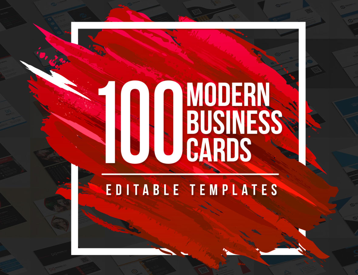 100 modern business cards bundle graphic pick 100 modern business cards bundle colourmoves