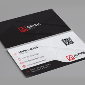 Clean Minimal Business Card 86