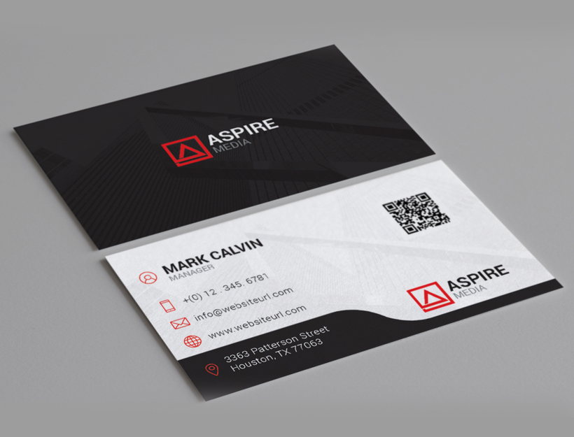 Clean Minimal Business Card 86 - Graphic Pick